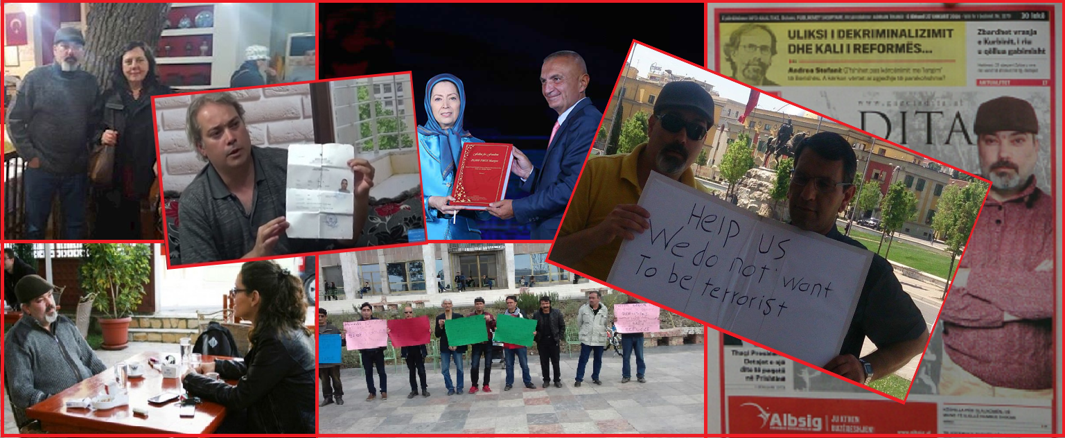 Ehsan Bidi. Victims of MEK crimes in Albania appeal to President Meta