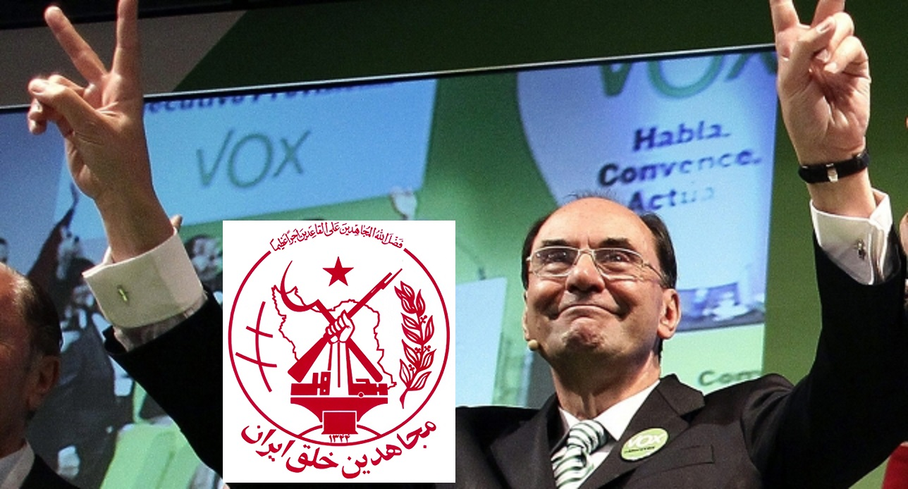 MEK, Iranian friends of the Far Right Spanish VOX