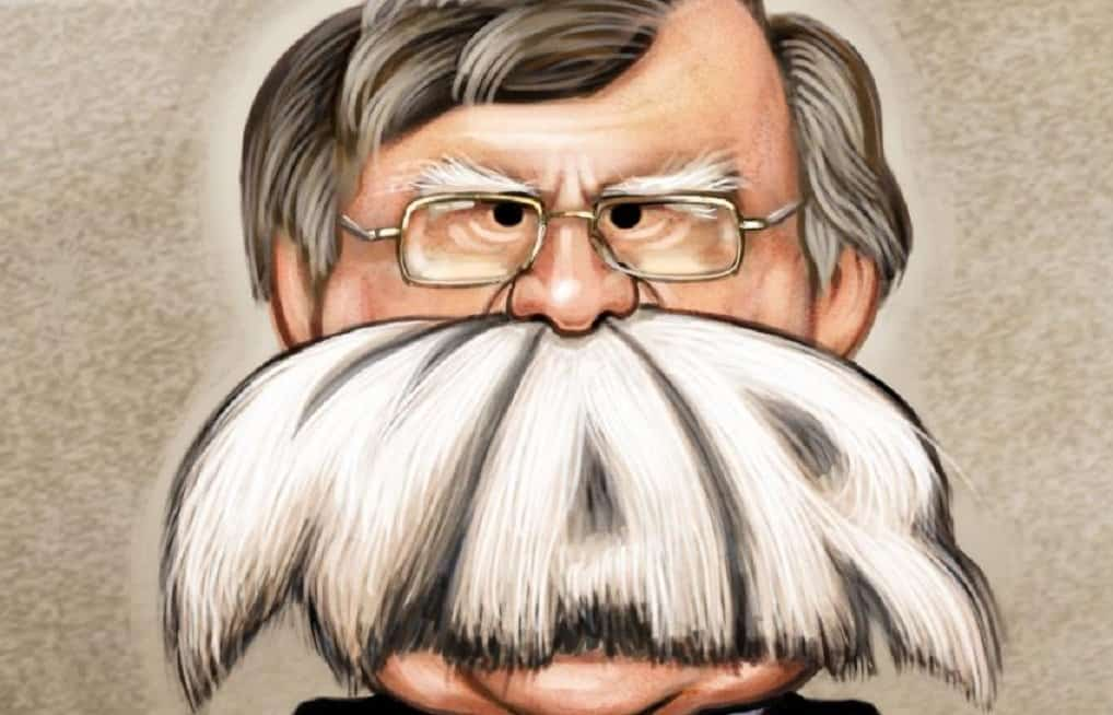 White House crumbling under the weight of Bolton's ambitions