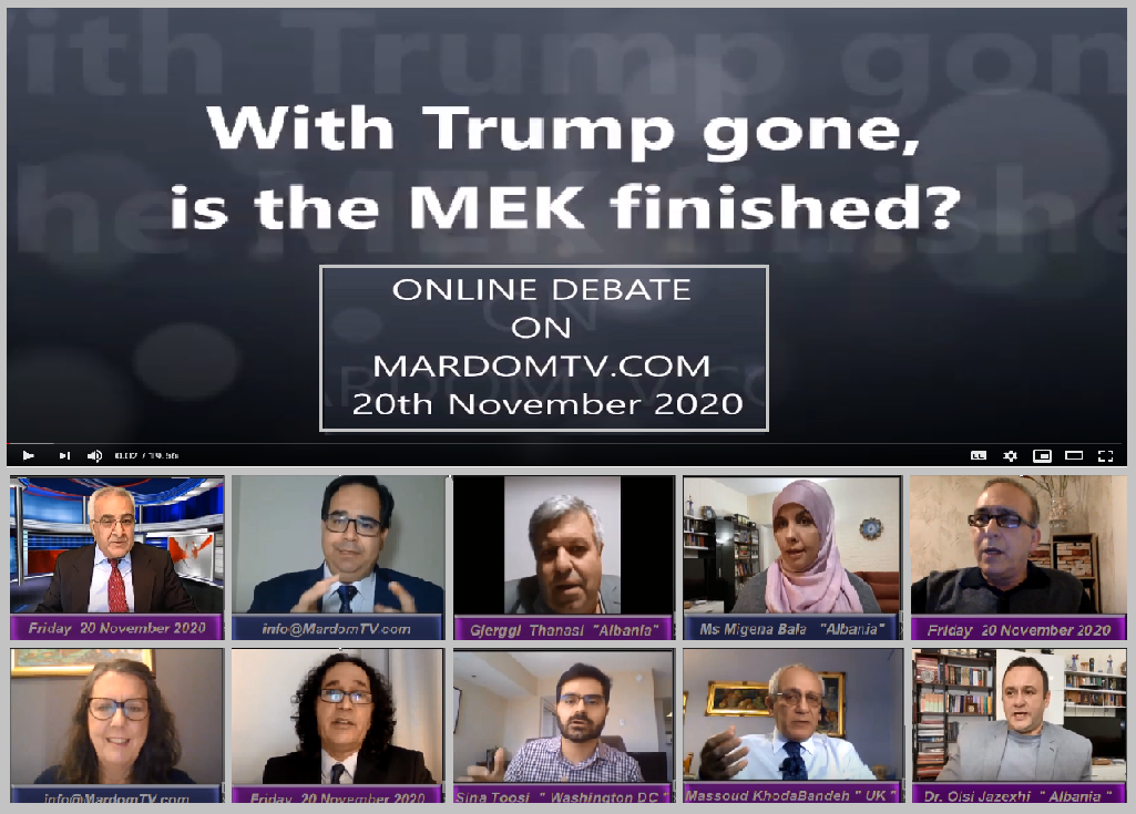 With Trump gone , is the MEK finished