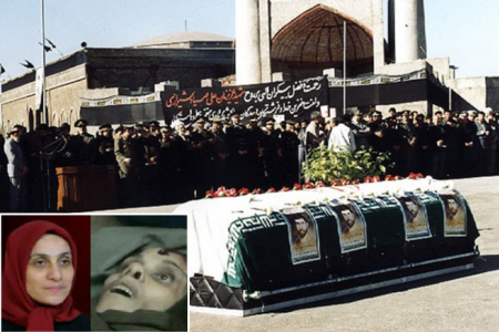 Zohreh Ghaemi: Responsible for the assassination of General Shirazi – shot in Camp Ashraf, Iraq